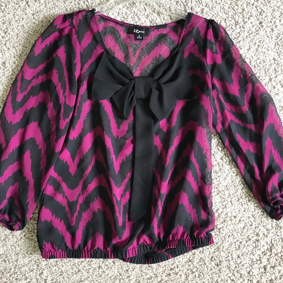 Tops - Bow front blouse